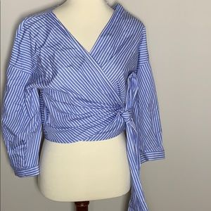 Long sleeve wrap shirt dress shirt